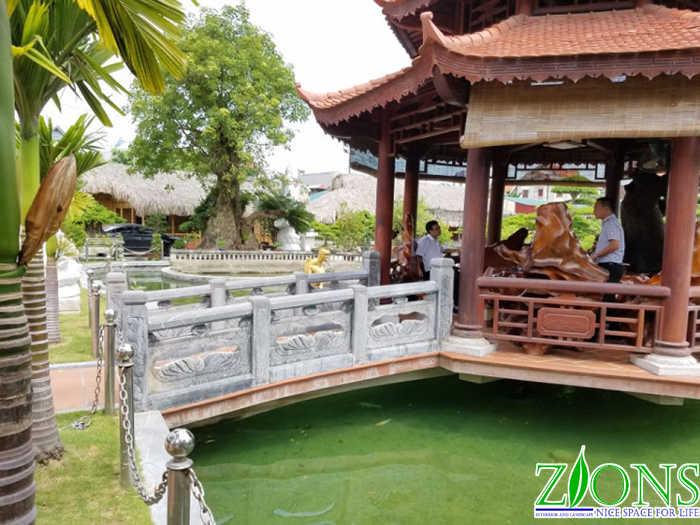 Cải tạo hồ Koi tại Thanh Hóa