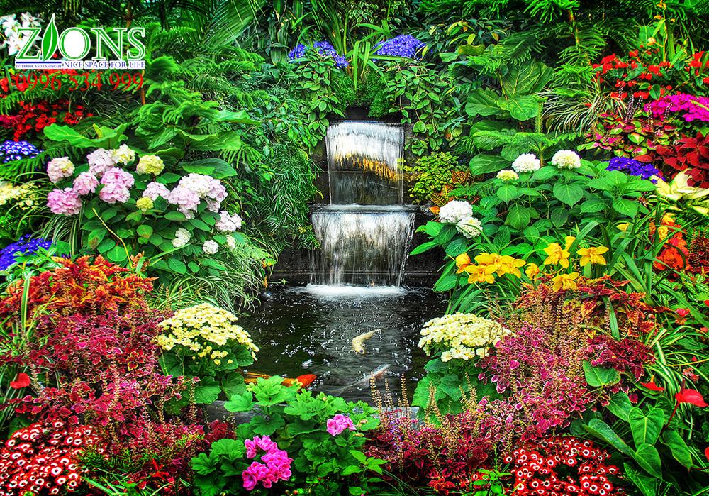 Sân vườn biệt thự mang thiên nhiên vào ngôi nhà bạn
