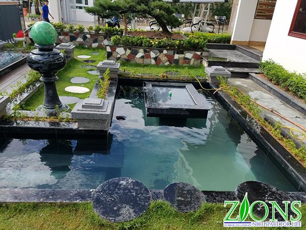 Hồ cá Koi hiện đại Lang Sơn