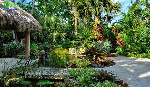 Thiết kế sân vườn biệt thự